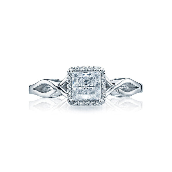 Tacori Engagement Engagement Ring Sculpted Crescent Halo Setting