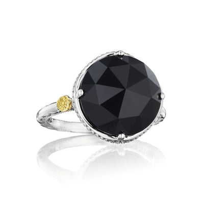 Tacori Ring Gemma Bloom Bold Simple Gem Black Onyx Ring