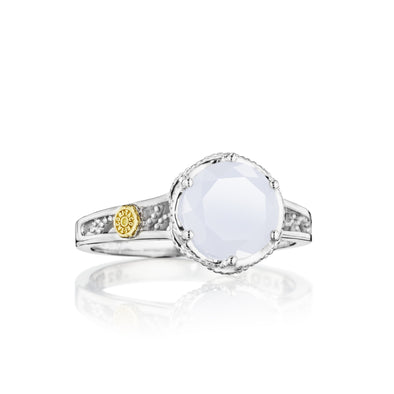 Tacori Ring Petite Crescent Chalcedony Ring