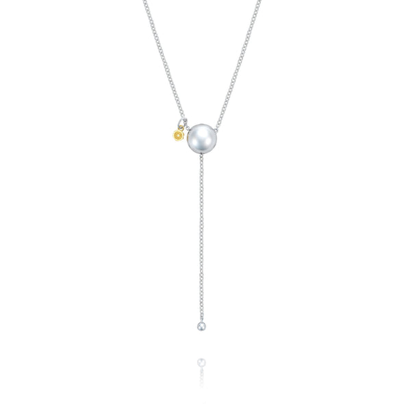 Tacori Necklaces and Pendants Sonoma Mist Bold Silver Dew Drop Lariat