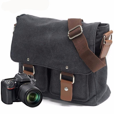 Photography Canvas Camera Shoulder Bag