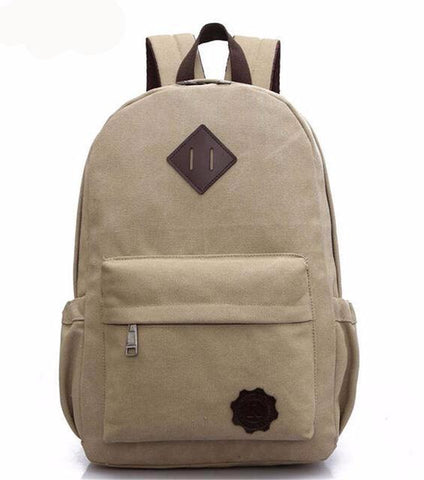 Premium Quality Canvas Unisex  Backpack