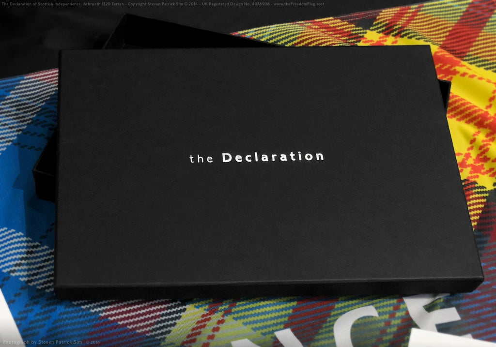 The Declaration 1320 - limited edition flag