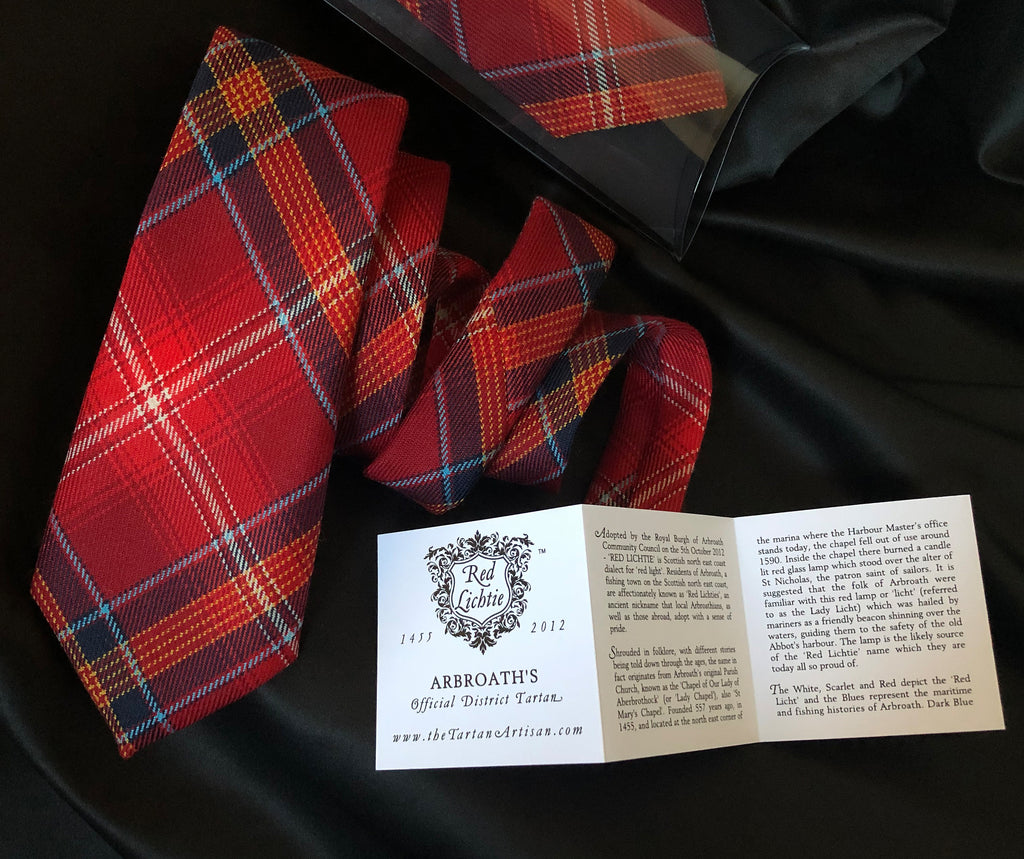 RED LICHTIE GENTS TIE
