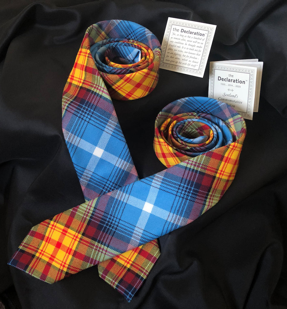 The DECLARATION Numbered Edition Tartan Neck Tie