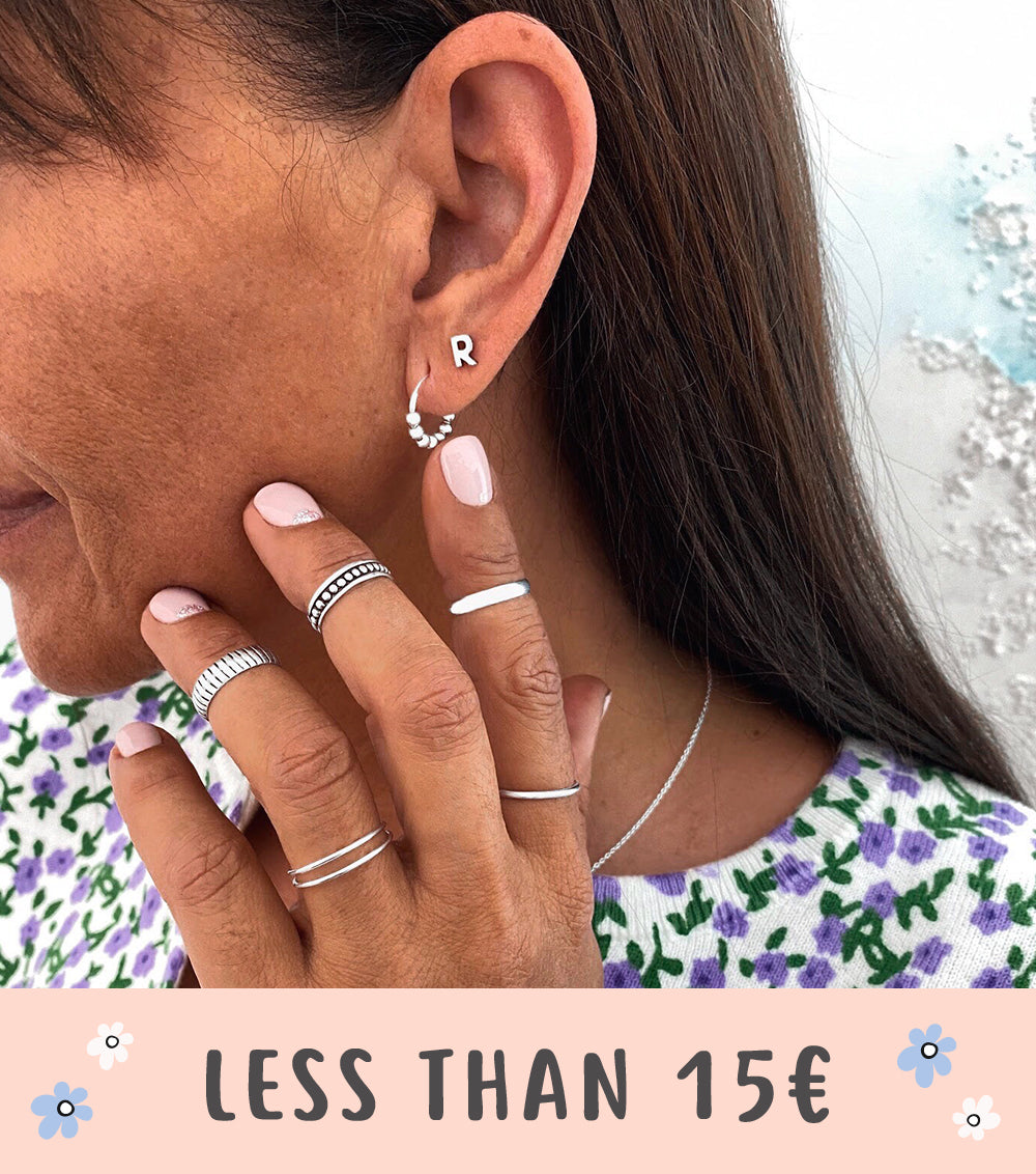 Jewels for less than 15 eruos