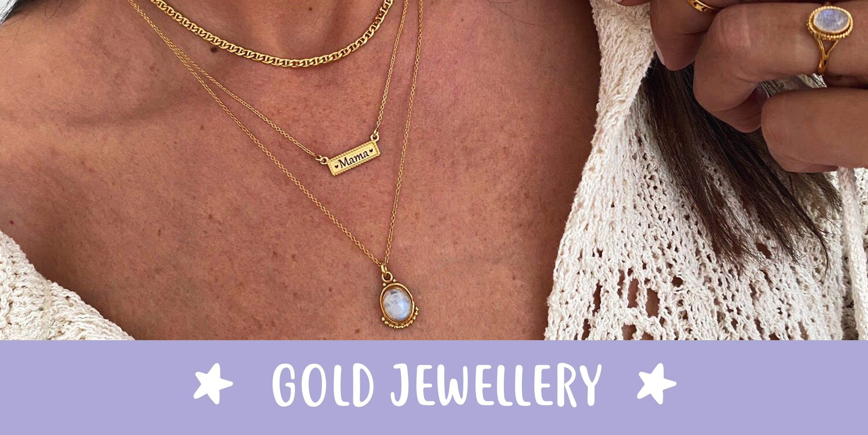 Gold Jewels for mum