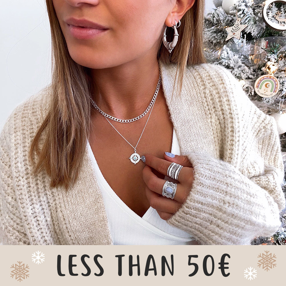 Jewels for less than 50 euros