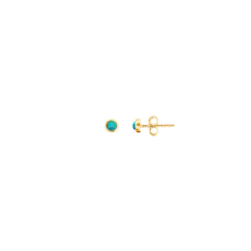 FIROZA GOLD EARRINGS