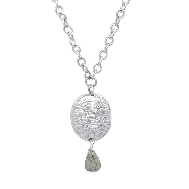 Loksi Pendant in Sterling Silver