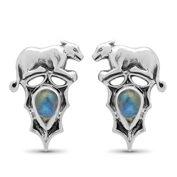 Panther Moon Studs