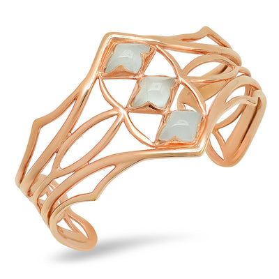 Arch Cuff in Rose Gold