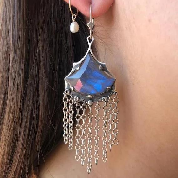 Fan Earrings