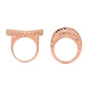 Rose Gold Stacking Rings Gift Set