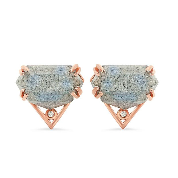 Rose Gold Studs Gift Set