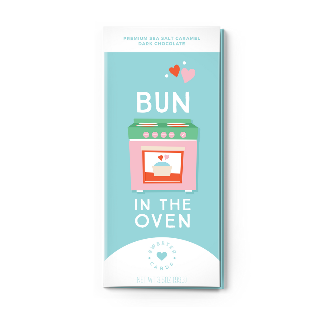 BUN IN THE OVEN<br>Sea Salt Caramel Dark Chocolate