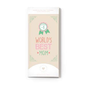 MOM AWARD<br>Sea Salt Caramel Dark Chocolate