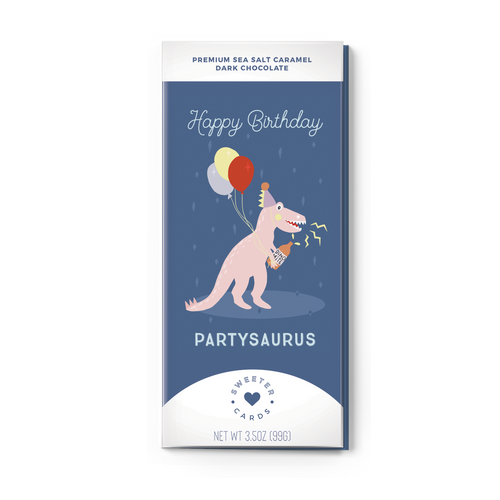 HAPPY BIRTHDAY, PARTYSAURUS
