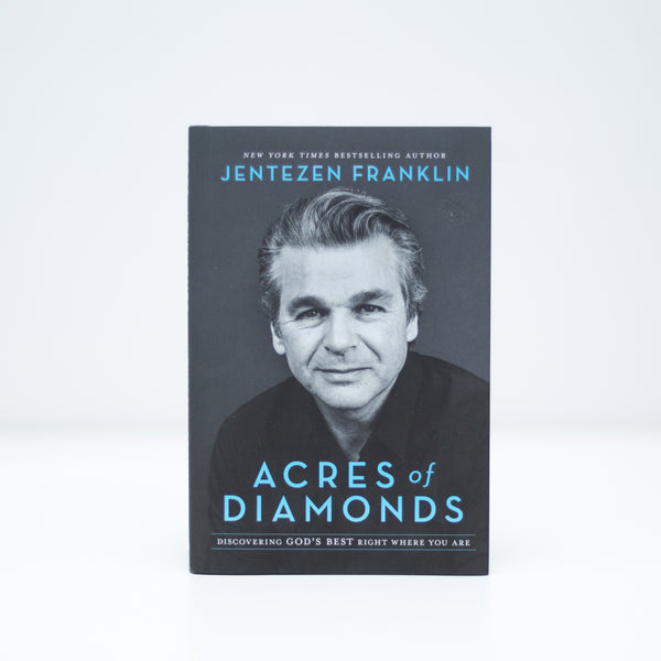 Acres of Diamonds -Jentezen Franklin (English) Hardcover