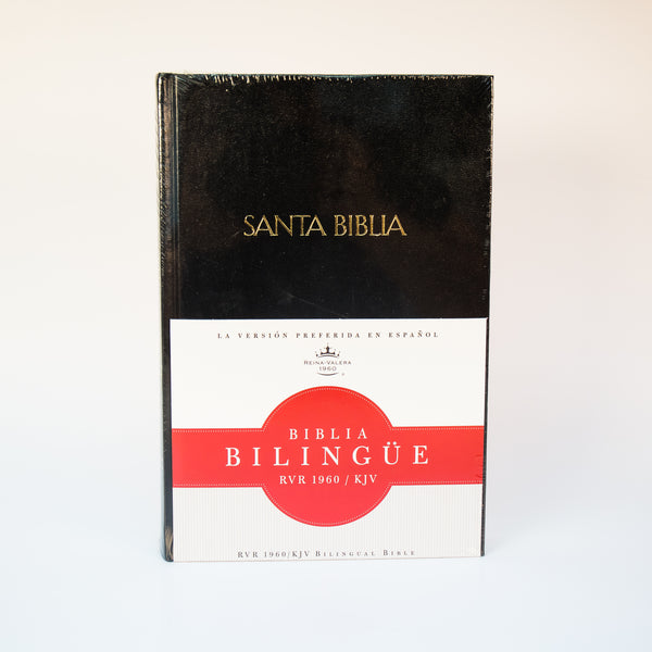 RVR 1960 /KJV, Biblia Bilingüe, Hard Cover (Spanish/English)