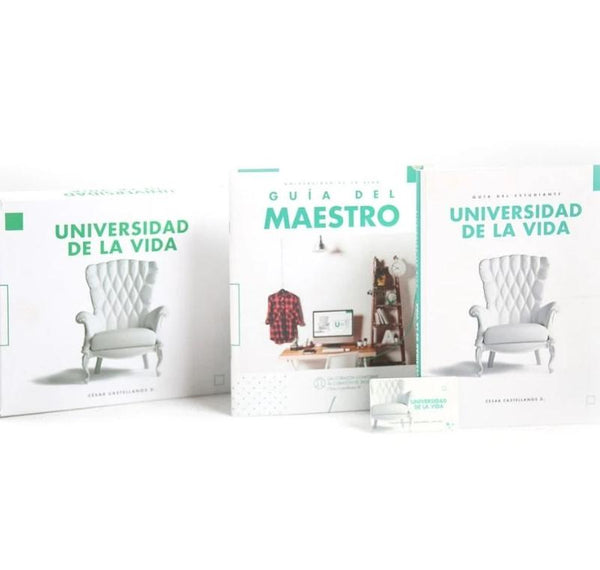 Universidad de la Vida. Kit - Cesar Castellanos (Spanish)