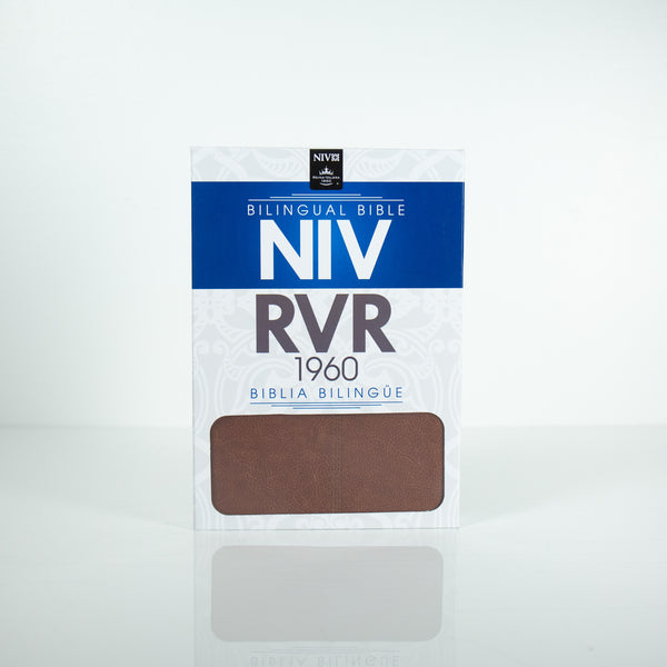 Bilingual Bible, NIV/RVR 1960, Leather Like (English)