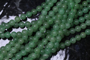 6mm Gemstone Rounds Aventurine Gr01