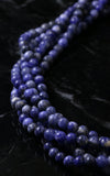 6mm Gemstone Rounds Sodalite Gr12