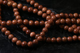 6mm Gemstone Rounds Goldstone Gr26