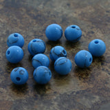 6mm Gemstone Rounds Turquoise Gr05