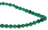 6mm Gemstone Rounds Chinese Turquoise Gr24 - Mi Amore