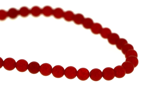 6mm Gemstone Rounds Ruby Gr30 - Mi Amore