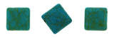 10X10mm Gemstone Spacer Afric Turquoise GRS03 - Mi Amore
