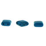 10X10mm Gemstone Spacer Turquoise Grs05
