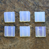 10X10 Gemstone Spacers Opal Grs23