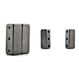 Magnetic Clasp 3 Hole Gunmetal Gray 10 sets MC07