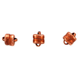 6mm Magnetic Clasp Set Of 12 Maglok Copper Loop MC23