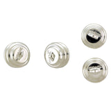11mm Magnetic Clasp Set Of 12 Maglok Silverplate Loop MC28
