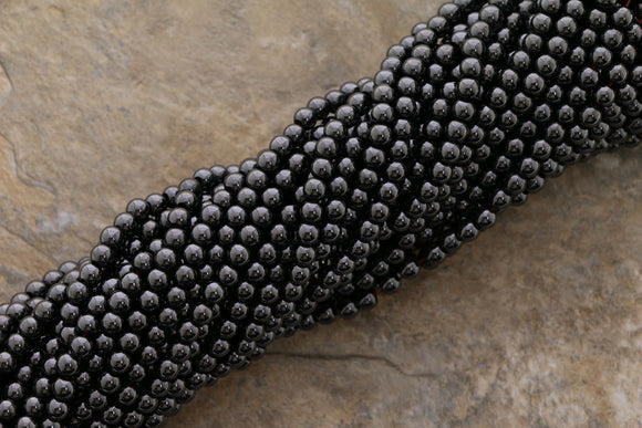 4mm Magnetic Hematite Round Mh01