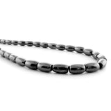 4X6mm Magnetic Hematite Rice/Oval Mh04