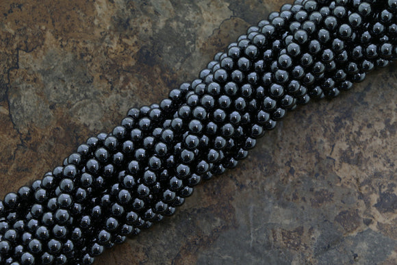 5mm Magnetic Hematite Round Mh07