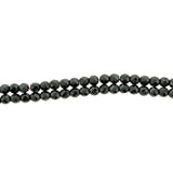 4mm Magnetic Hematite Faceted Round Mh30