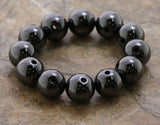 8mm Magnetic Hematite Round Mh39