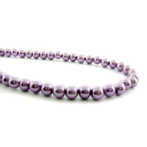 6mm Lavender magnetic pearl MP23