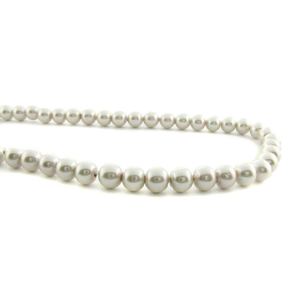 6mm Magnetic Pearl Antique White Round MP45