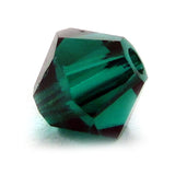 4mm Swarovski Crystals Emerald S4C01