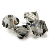4mm Swarovski Crystals Black Diamond S4C02