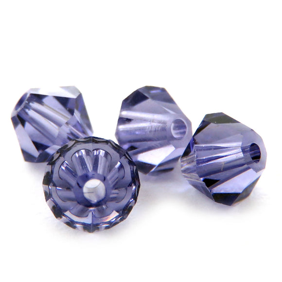 4mm Swarovski Crystals Tanzanite S4C06