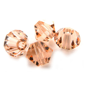 4mm Swarovski Crystals Light Peach S4C13