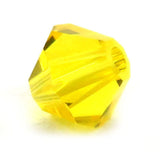 4mm Swarovski Crystals Citrine S4C19